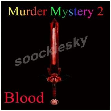 ROBLOX Murder Mystery 2 Blood