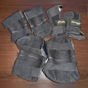 Ochraniacze zestaw kolana łokcie nadgarstki Rozm S