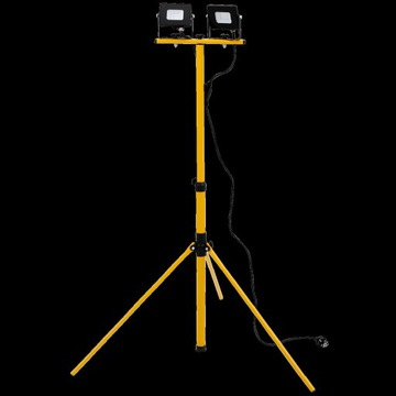 Lampa robocza LED na statywie 2x15W/1200L Halogen
