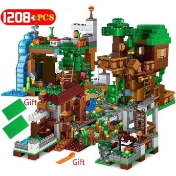 Nowe! Klocki Minecraft 1088 części.