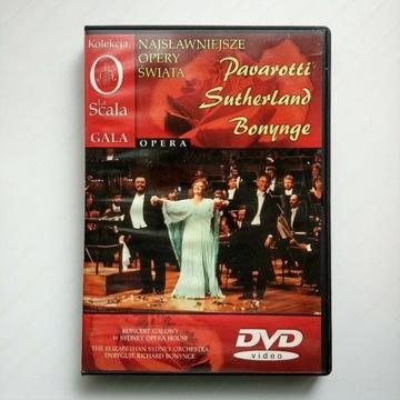 Koncert jubileuszowy - Pavarotti, Sutherland