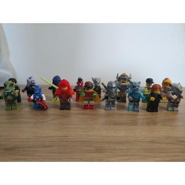 LEGO ludziki ninjago chima city