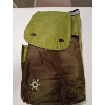 Nowa torba do wózka Aurora Vienna brązowo zielonym
