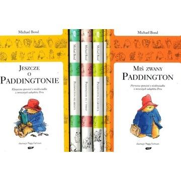 MIŚ PADDINGTON  kolekcja 5 nowych książek