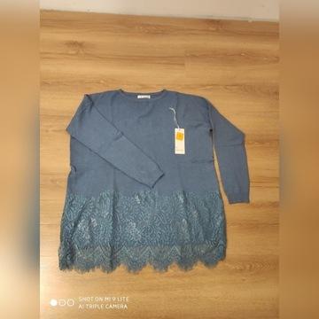 Sweterek z koronką XL/XXL