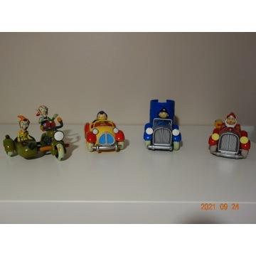Noddy i przyjaciele, zestaw 5 figurek i 4 pojazdów