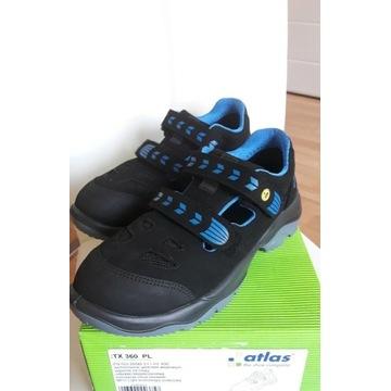 Buty robocze Atlas rozm.42 sandały bezpieczne.