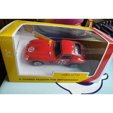 Ferrari 250 GTO 1:43 seria  Shell