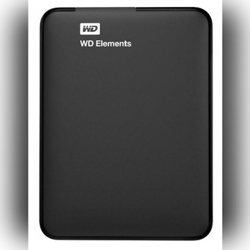 DYSK zewnętrzny WD Elements 2TB USB 3.0 czarny !