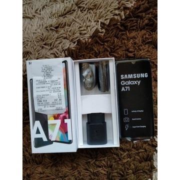 Samsung Galaxy A71 czarny nowy paragon play