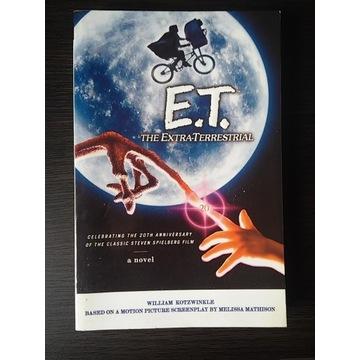 E.T - The Extra Terrestrial - Novel - Unikat