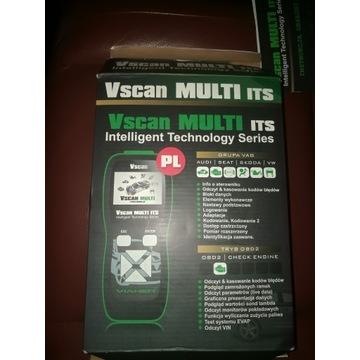 Profesjonalny Vscan MULTI ITS 2w1 VAG + OBD2 PL
