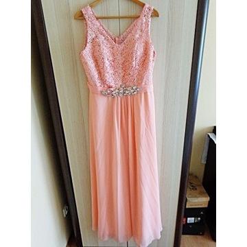 Piękna suknia Maxi z gorsetem