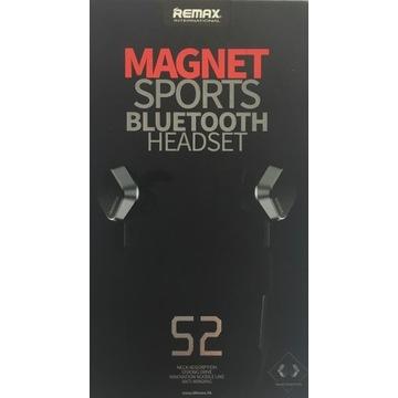 słuchawki douszne REMAX RM-S2 Magnet Bluetooth 4.1