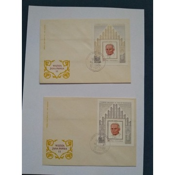 Zestaw kopert i kartek Jan Paweł II