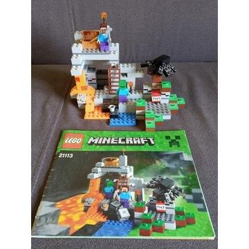 Lego 21113 Minecraft Jaskinia