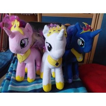 Maskotki My Little Pony Księżniczki.