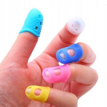 silikonowe ochraniacze na palce dla gitarzysty