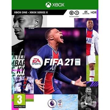 FIFA 21 XBOX ONE KLUCZ/KOD nie konto!
