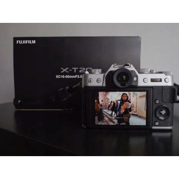Fujifilm X-T20 + Fujinon XC 16-50mm w dobre ręce!