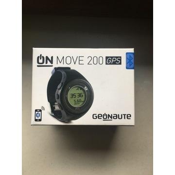 Zegarek GPS ONmove 200 czarny