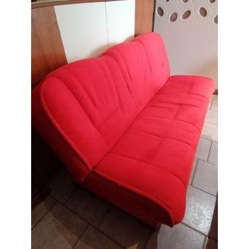 Komplet wypoczynkowy: wersalka + 2 fotele +narzuty