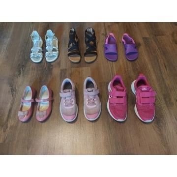 Buty dziecięce zestaw