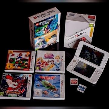 Nintendo 3DS + gry.Pokemon,Mario,Ninjago PREZENT