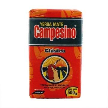 YERBA MATE CAMPESINO CLASSICA ELABORADA CON PALO