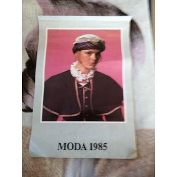 Kalendarz Moda 1985 rok