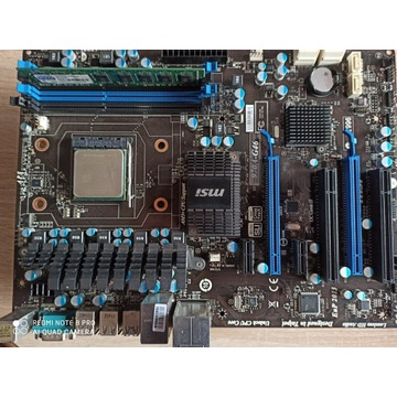 MSI 970A-G46, AMD Phenom II X4 965BE, GoodRam DDR3