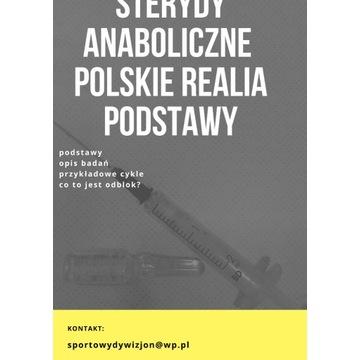 Steryd Anaboliczne Polskie realia 2019