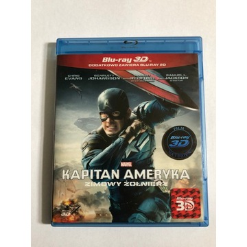 Kapitan Ameryka: Zimowy żołnierz Blu Ray 3D