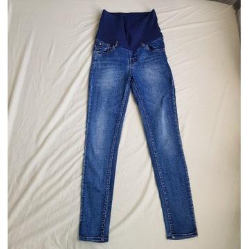 Jeansy ciążowe spodnie 36