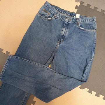 Jeansy spodnie Calvin Klein typu mom, ładne z nowe