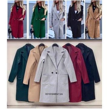 Damski płaszcz jesienno-zimowy