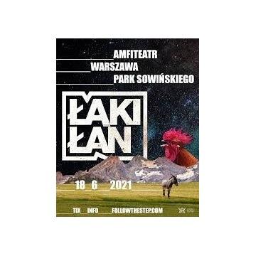 Bilety x3 na koncert Łąki Łan Warszawa 18.06.2021