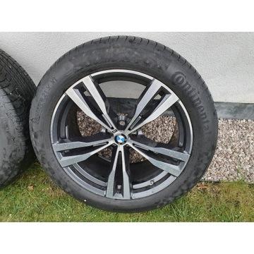 Koła BMW X7 M  G07 21 Cali Continental Ran Flat