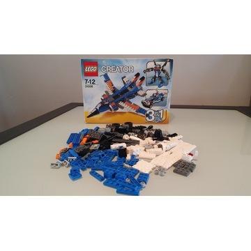 Lego Creator 31008 3w1 robot samochód odrzutowiec