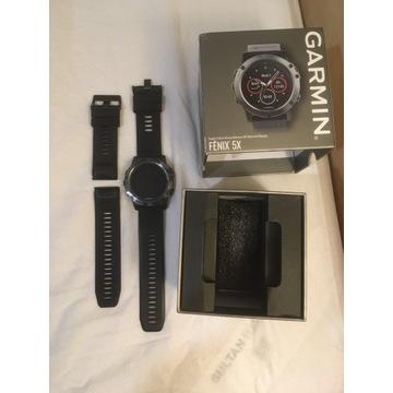 Garmin Fenix 5X Saphire + Garmin HRM-Tri
