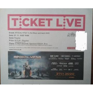 Bilety na Apokalypsa 2021