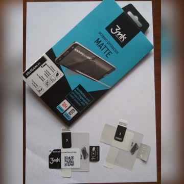 Folia 3mk MATTE 60x45mm zaokrąglenie 2mm 2 szt.