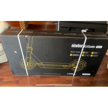 Hulajnoga Ninebot SEGWAY MAX G30 - jak NOWA 30km/h