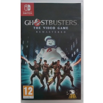 GHOSTBUSTERS THE VIDEO GAME REMASTERED - SWITCH