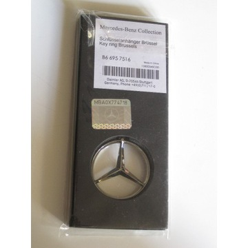 Brelok Mercedes nowy oryginalny B66957516
