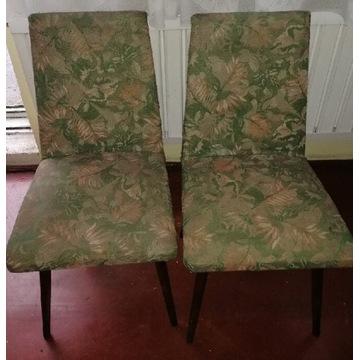 Patyczaki oryginalne krzesła PRL