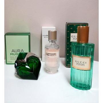 Zestaw 3 perfum - Aura - Mugler, Gucci, Givenchy