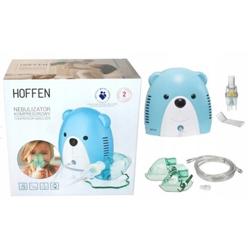 Inhalator nebulizator Miś dla dziecka