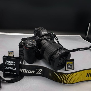 NIKON Z6+ Obiektyw 24-70 mm+ karta pamięci+czytnik