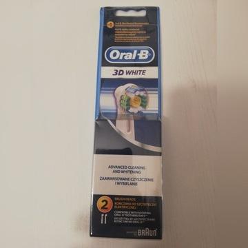 Końcówki szczoteczki Oral B 3D White 2 szt.